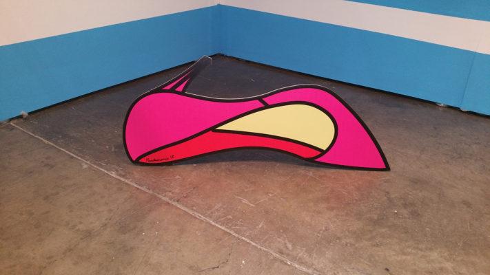 Pandemonia shoe sculpture