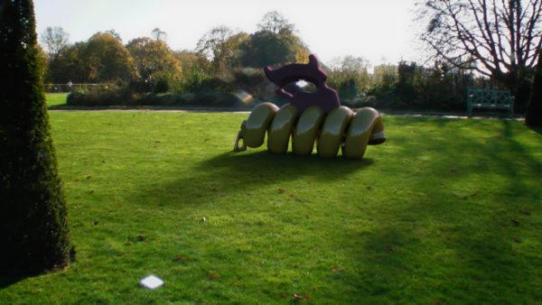 Virtual sculpture Hyde Park
