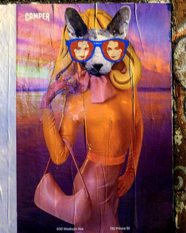 Kafka Street Artist NYC
